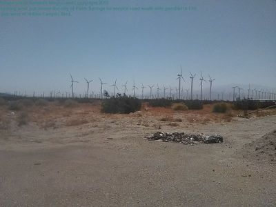 wind farms are not children's spinner toys they contain toxic materials that cannot be recycled, fiberglass that ends up in land fills, and they waste energy